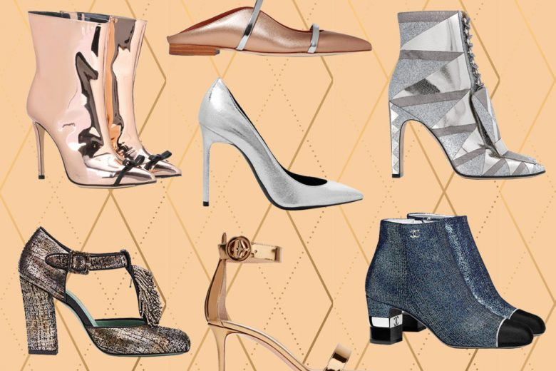 Metallic shoes: la tendenza più brillante dell'autunno 2017