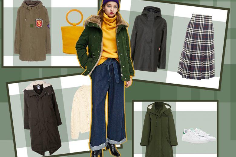 Come indossare il parka: le idee per abbinarlo in autunno