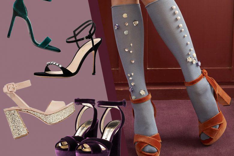 Sandali: 10 modelli super glam da indossare anche d'inverno
