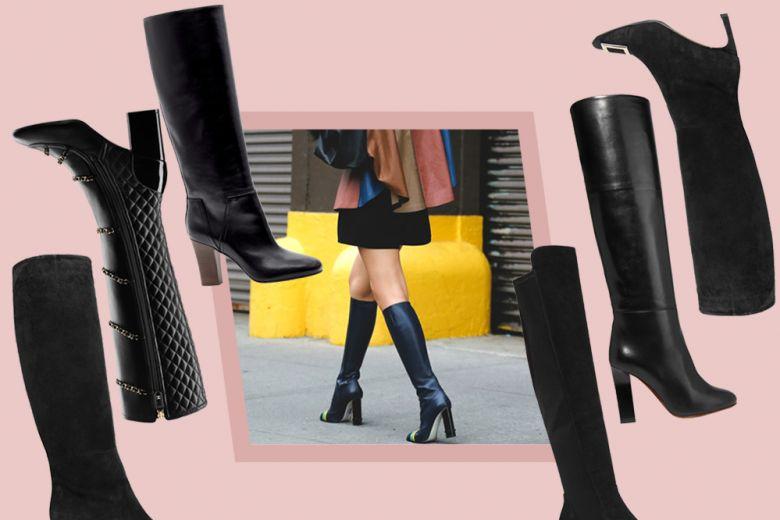 Stivali con tacco: i modelli passe-partout sono black!