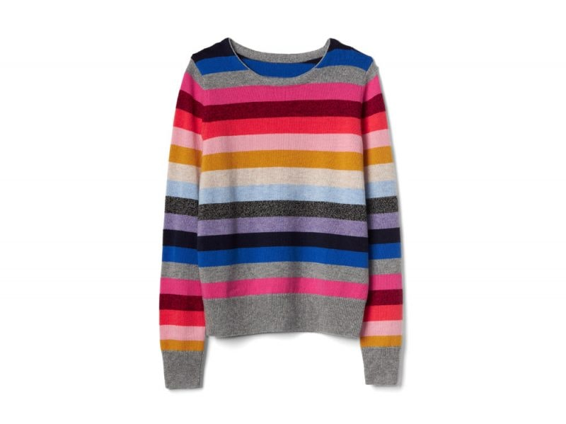 GAP-Long-sleeve-clean-crew-neck-crazy-pullover,-£39
