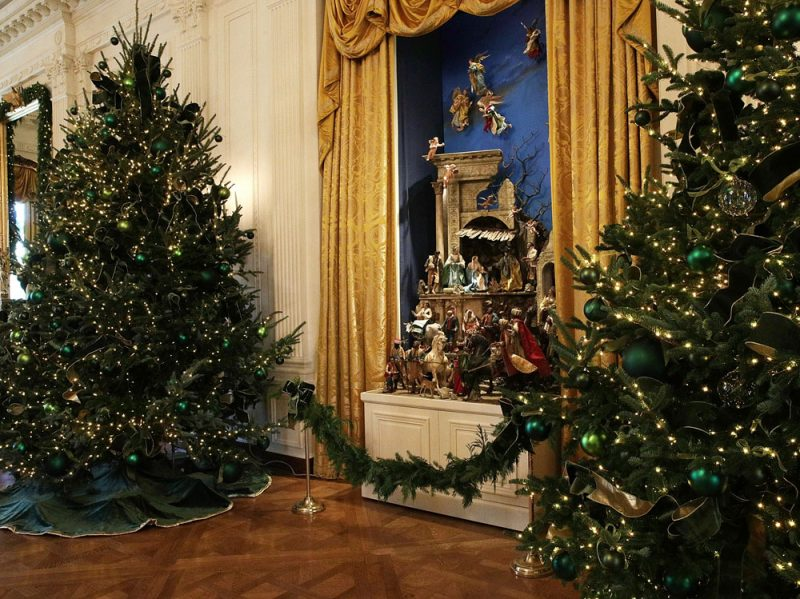 The White House Previews Its Holiday Decorations
