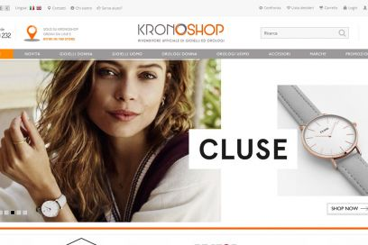 Kronoshop, il primo e-commerce italiano dedicato a orologi e gioielli