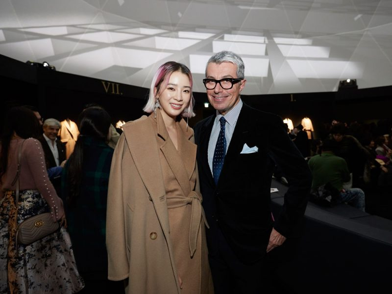 Irene-Kim-wearing-Max-Mara,-Giorgio-Guidotti
