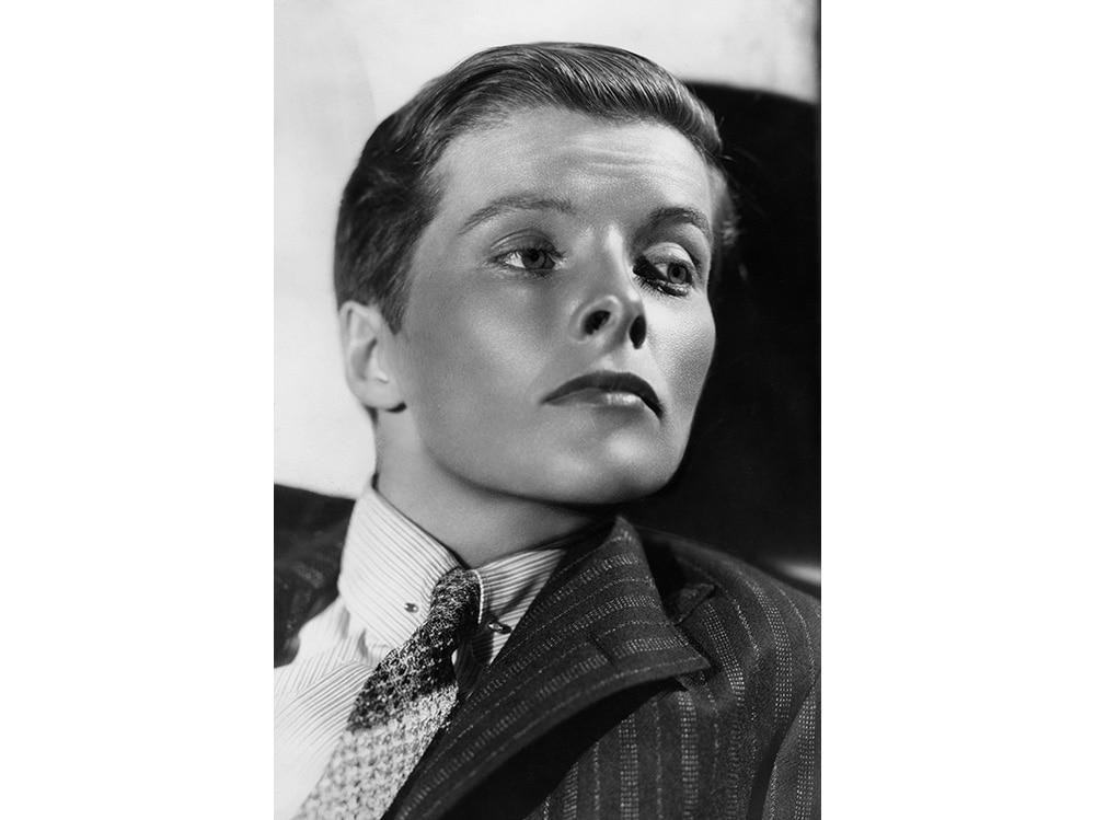 Katharine Hepburn dressed as a boy in the movie 'Sylvia Scarlett' 02 June 1936 getty