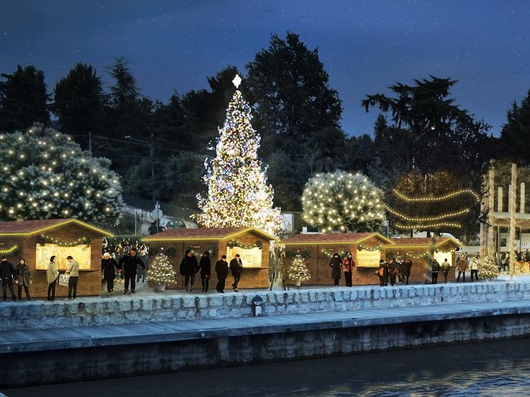 Lago di Viverone mercatini natale