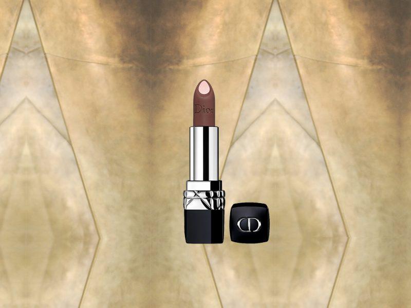 MARRONE make up prodotti di bellezza rossetto bicolore dior(9)
