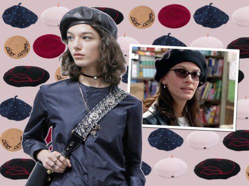 E  basco-mania  il cappello alla francese è (di nuovo) l accessorio  must-have dell autunno-inverno! f4b49d1e0a0f