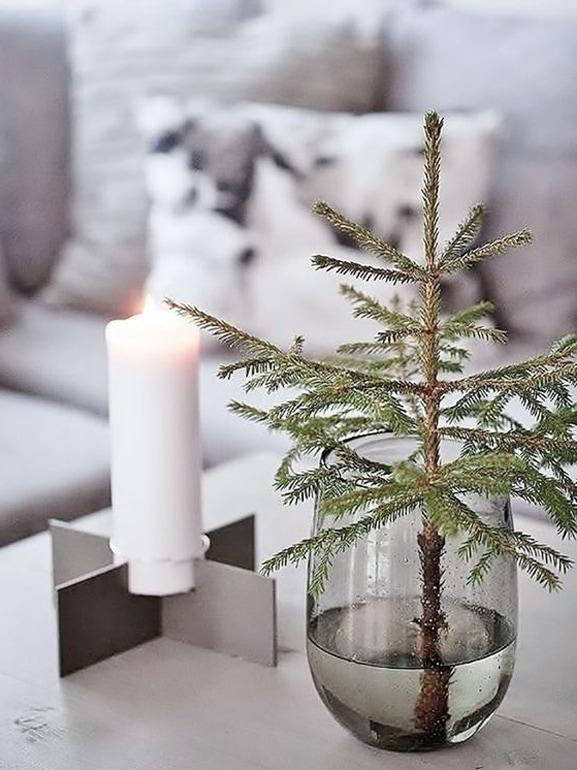 Natale stile scandinavo decorazioni casa 2