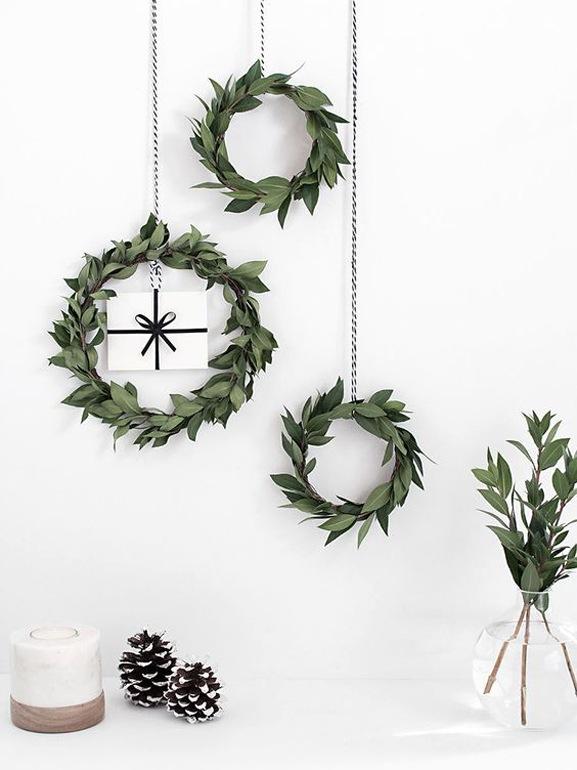 Natale stile scandinavo decorazioni casa 5