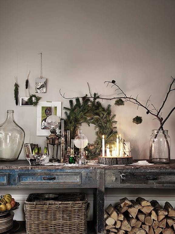 Natale stile scandinavo decorazioni casa 8