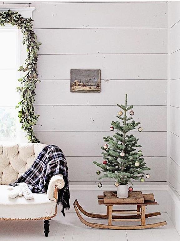 Natale stile scandinavo decorazioni casa 9