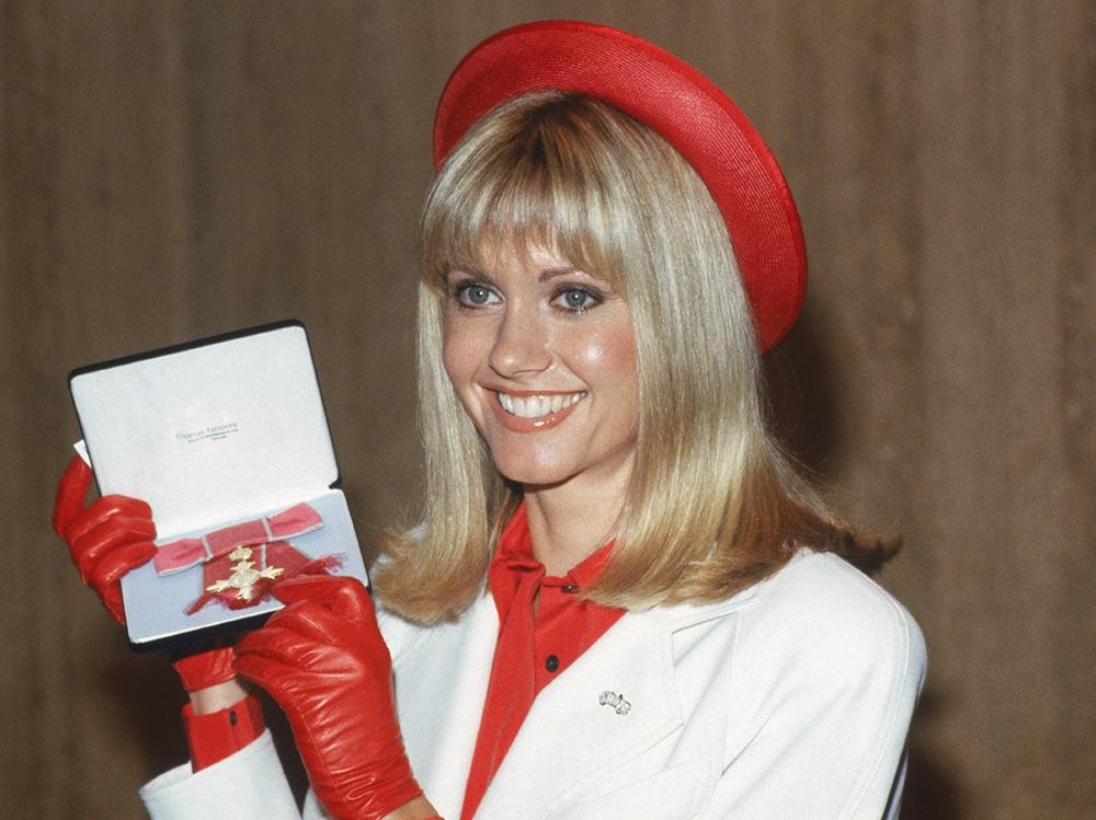 Olivia Newton-John 1979 getty