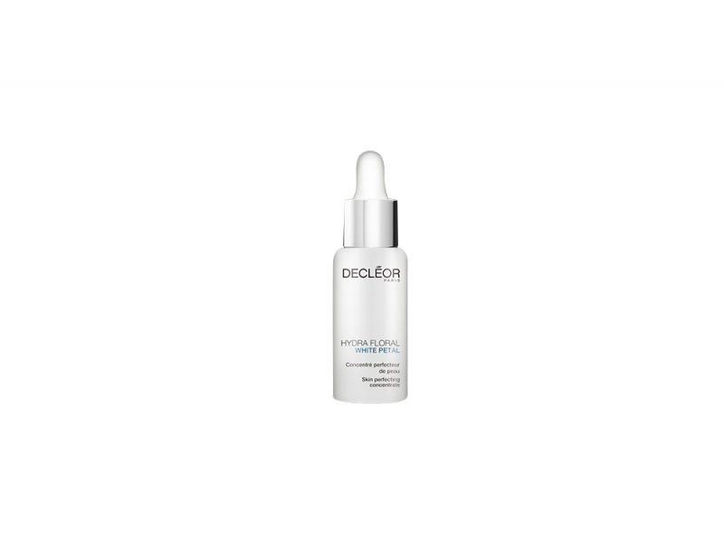 Pelle-a-30-anni-le-caratteristiche-e-i-prodotti-immancabili-Decléor White Petal Concentré Perfecteur de Peau