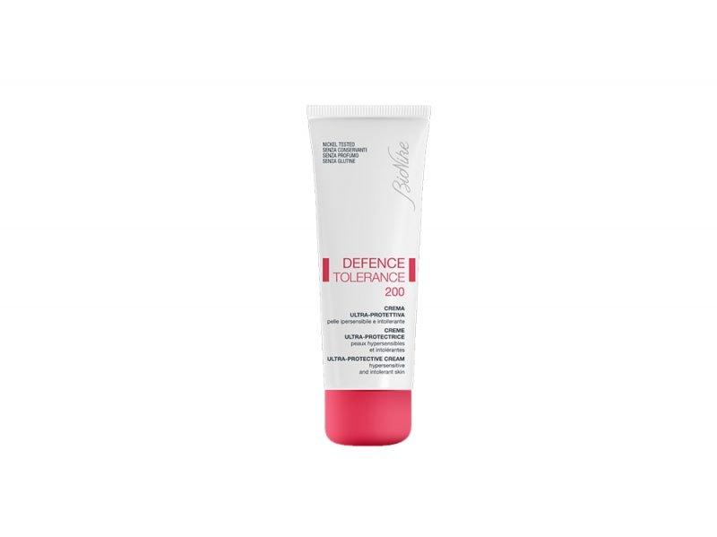 Pelle-sensibile-e-facile-agli-arrossamenti-le-cause-e-i-prodotti-specifici-Crema ultra protettiva DEFENCE TOLERANCE 200_BioNike