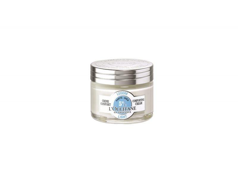 Pelle-sensibile-e-facile-agli-arrossamenti-le-cause-e-i-prodotti-specifici-Creme Confort Legere KARITE_L_Occitane
