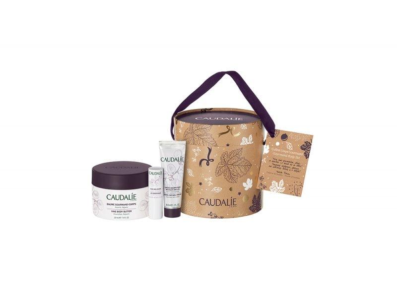 Regali-natale-beauty-bio_CAUDALIE Coffret Corps Gourmand prodotti_1