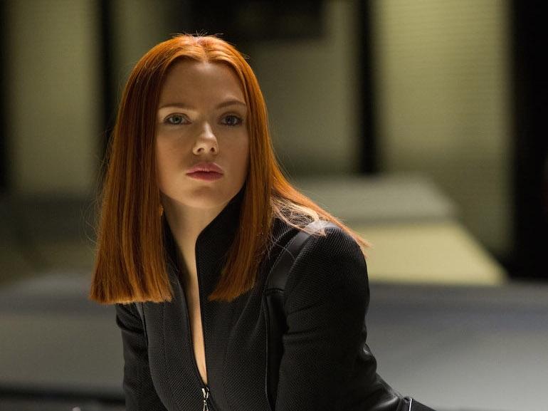 Scarlett Johansson capelli rossi