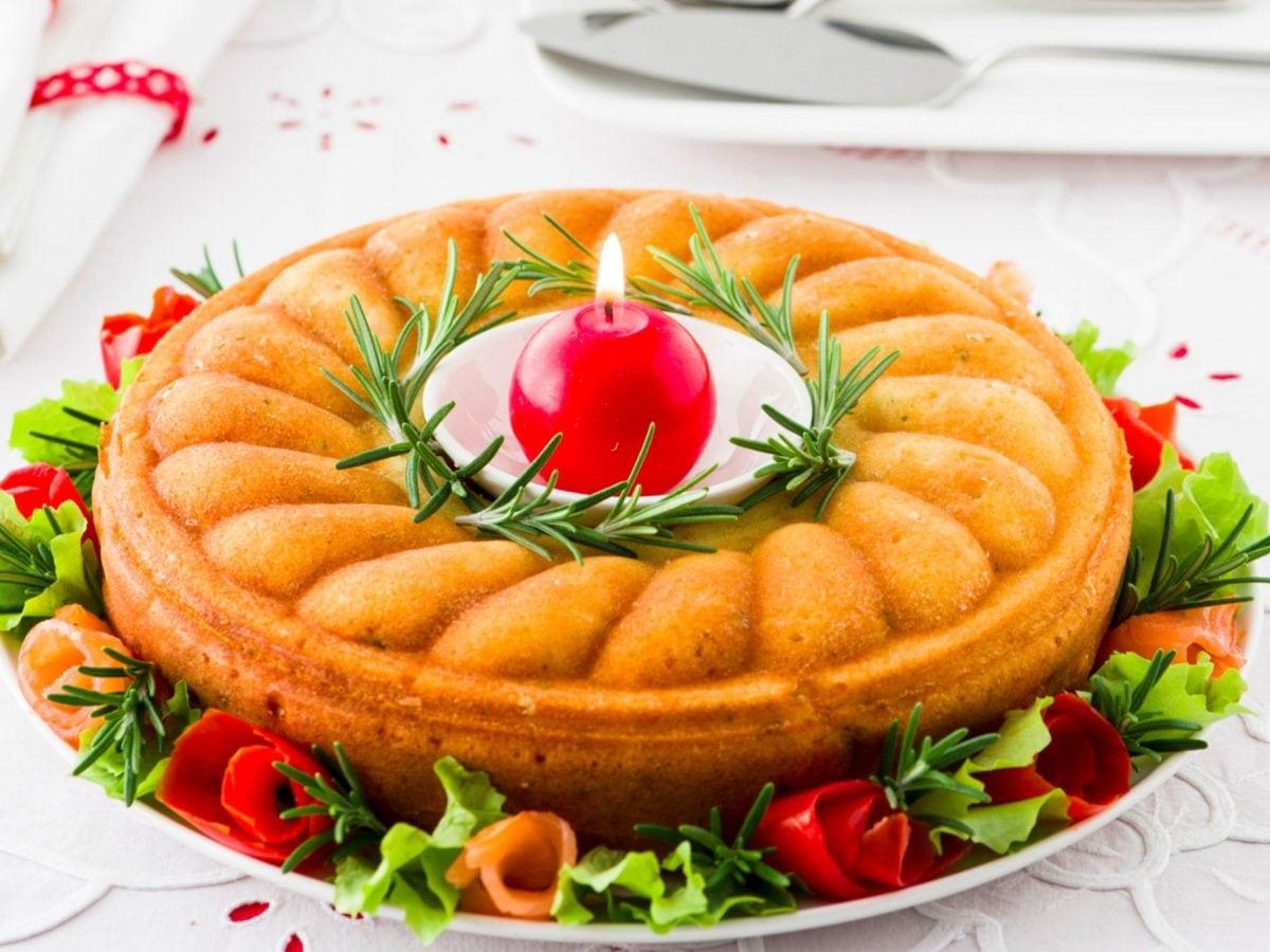 Torta salata di Natale al salmone(1)