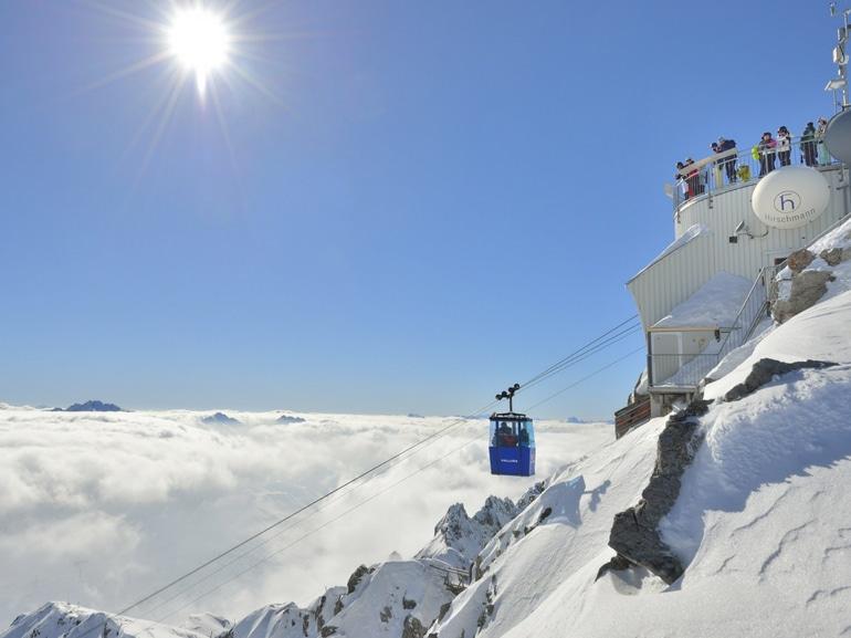 Valluga Aussichtsplattform auf 2.811m – credit TVB St. Anton am Arlberg_Foto Josef Mallaun (7)