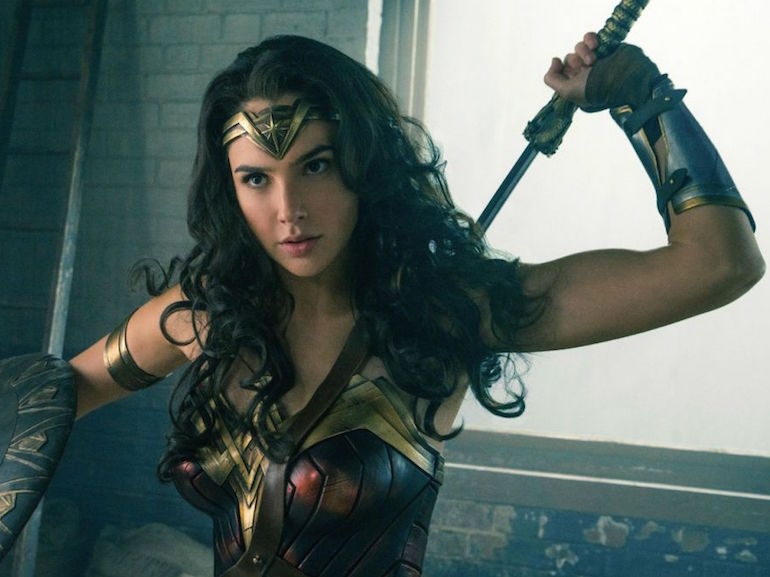 Wonder Woman spada