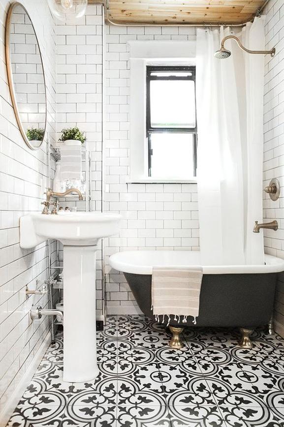abbinare piastrelle rivestimento bagno 7