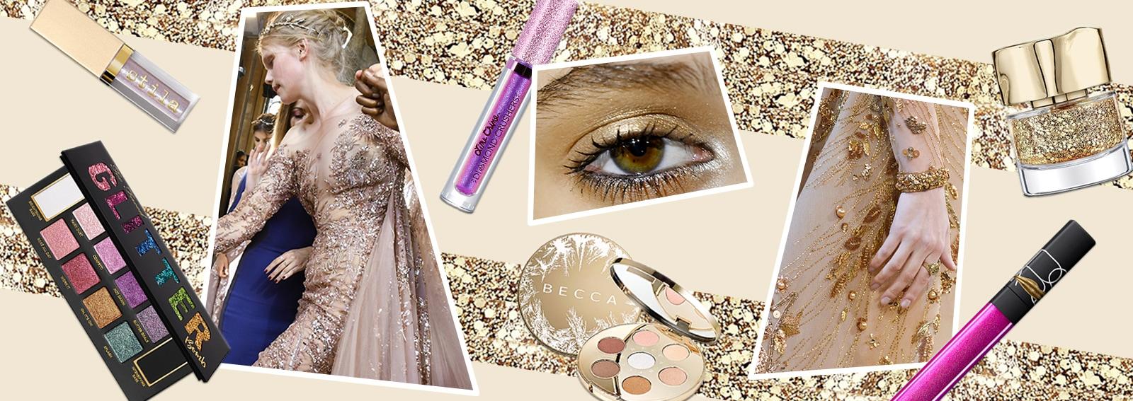 I prodotti di make up super scintillanti per le feste