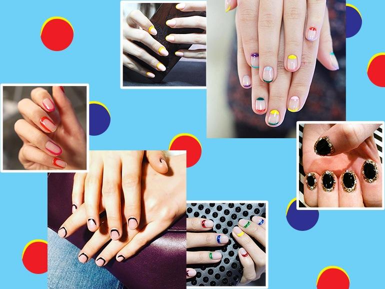 Outline nails e cuticle manicure: la nail art più originale del momento