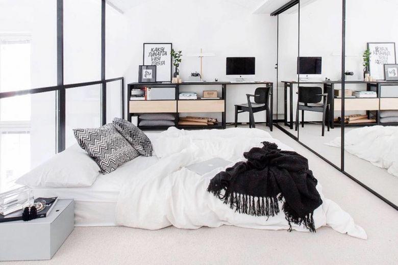 Come disporre correttamente i mobili in camera da letto