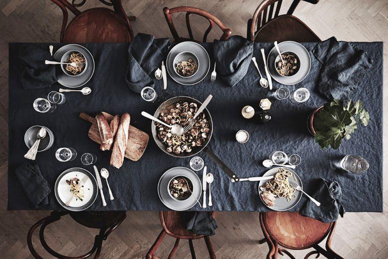 La tavola monocromatica: sette idee a cui ispirarsi