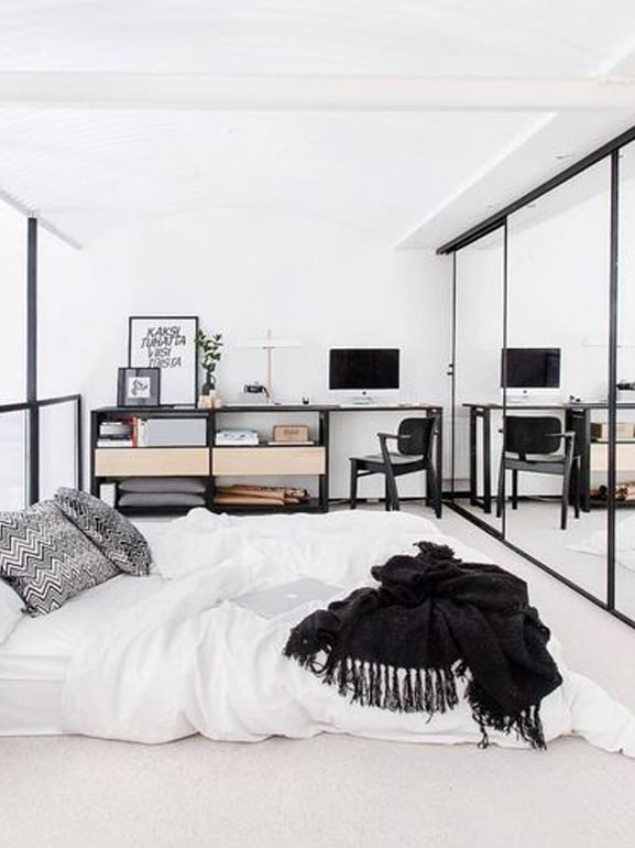 Come disporre correttamente i mobili in camera da letto ...