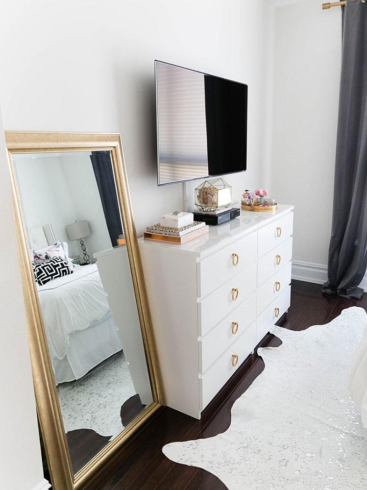 feng shui TV camera da letto