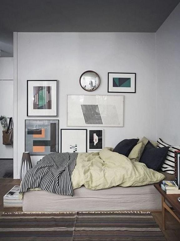 feng shui letto contro parete