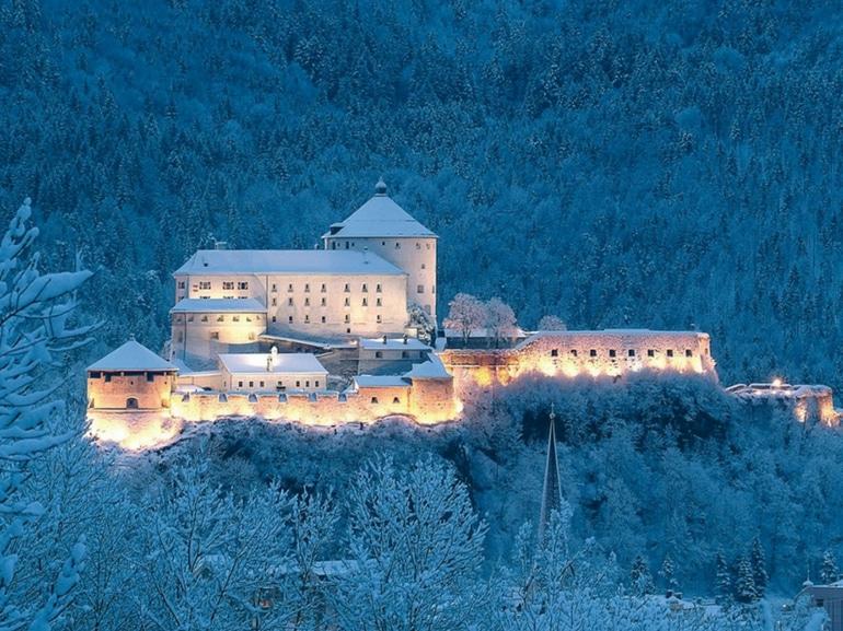 fortezza_inverno__Ferienland Kufstein_Kufsteinerland_Natale Tirolo Austriaco neve