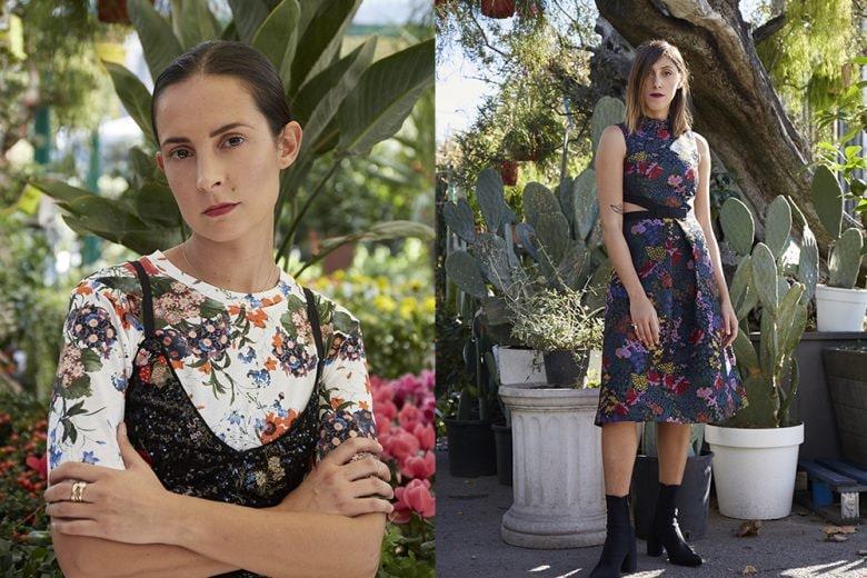 Giardino fiorito: le influencer interpretano Erdem x H&M