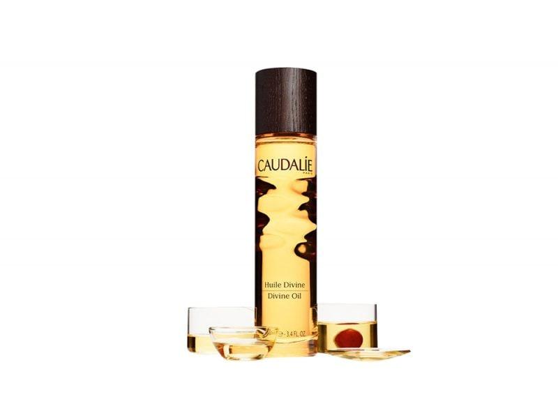huile divine caudalie olio di argan