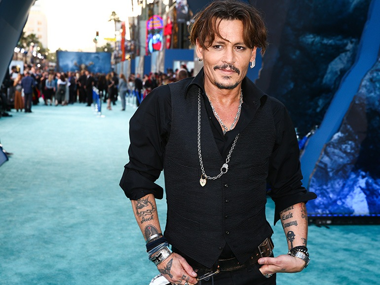 johnny depp pirati caraibi