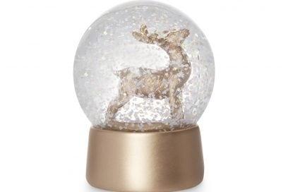 kimball-1402801-deer snow globe gold, grade ROI H FRIT J IB D USA J, wk 01, €3 $3.50