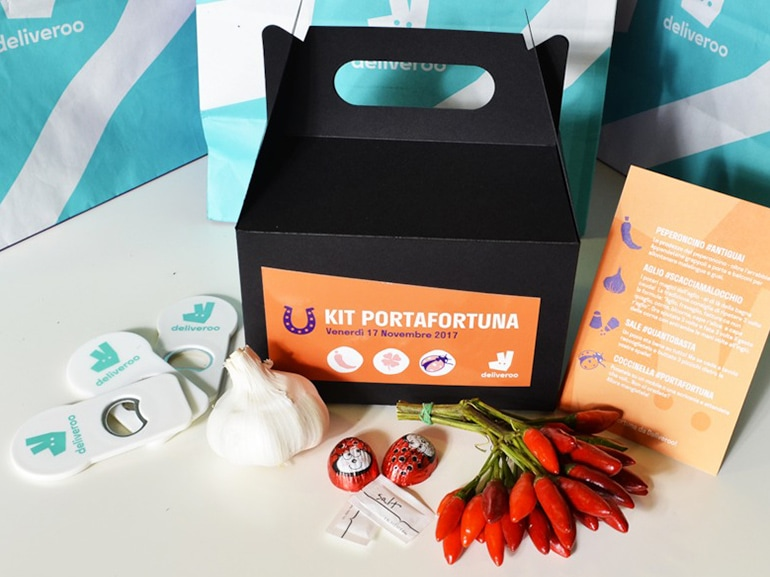 kit portafortuna deliveroo