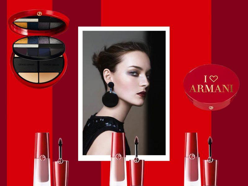 make up natale 2017 collezione Armani