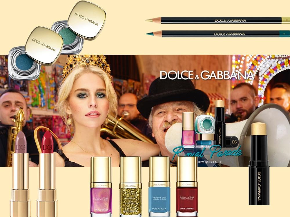 make up natale 2017 collezione D&G
