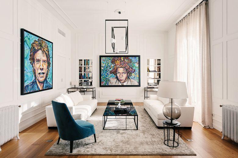 Milano: un appartamento fra design italiano e stile inglese