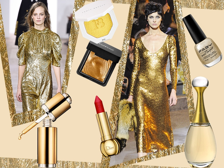 prodotti di bellezza make up oro collage_mobile