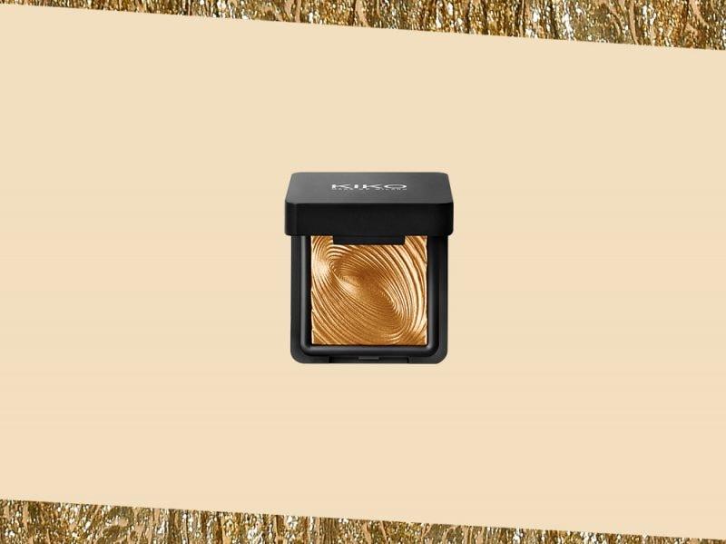prodotti di bellezza make up oro ombretto metallico kiko (20)