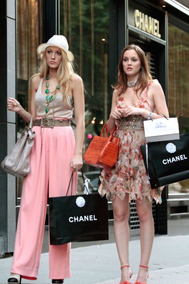 serena van der woodsen shopping
