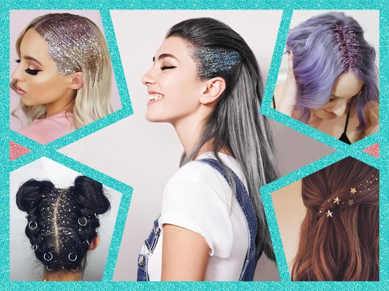 shimmering glitter hair capelli glitterati MOBILE_Shimmering_