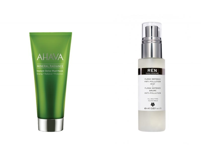 skincare anti inquinamento