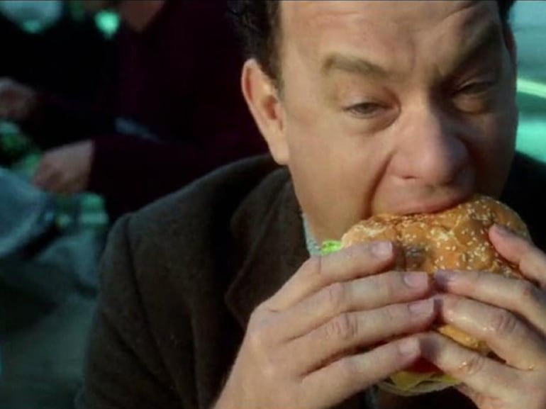 tom hanks hamburger the terminal