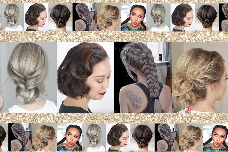 Acconciature capelli per le Feste: i video tutorial per Natale e Capodanno