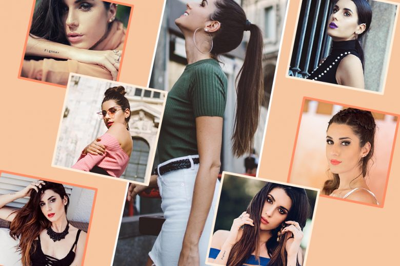 Valentina Vignali: i beauty look della modella e influencer italiana